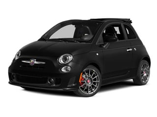 Nero Puro (Straight Black) 2013 FIAT 500 Pictures 500 Convertible 2D Abarth I4 photos front view