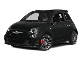 Nero (Black) 2013 FIAT 500 Pictures 500 Convertible 2D Abarth I4 photos front view