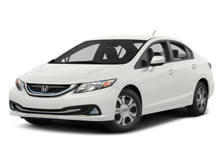 White Orchid Pearl 2013 Honda Civic Hybrid Pictures Civic Hybrid Sedan 4D Hybrid I4 photos front view