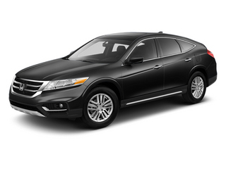Crystal Black Pearl 2013 Honda Crosstour Pictures Crosstour Utility 4D EX-L 2WD I4 photos front view