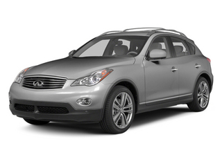 Liquid Platinum Metallic 2013 INFINITI EX37 Pictures EX37 Wagon 4D AWD V6 photos front view