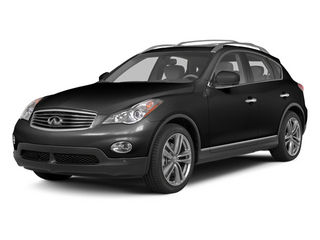 Black Obsidian 2013 INFINITI EX37 Pictures EX37 Wagon 4D AWD V6 photos front view