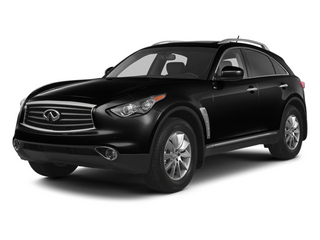 Black Obsidian 2013 INFINITI FX37 Pictures FX37 Utility 4D FX37 AWD V6 photos front view