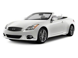 Moonlight White 2013 INFINITI G37 Convertible Pictures G37 Convertible Convertible 2D 6 Spd V6 photos front view