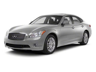 Liquid Platinum 2013 INFINITI M35h Pictures M35h Sedan 4D V6 Hybrid photos front view