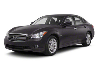 Platinum Graphite 2013 INFINITI M35h Pictures M35h Sedan 4D V6 Hybrid photos front view