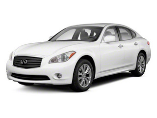 Moonlight White 2013 INFINITI M37 Pictures M37 Sedan 4D x AWD V6 photos front view