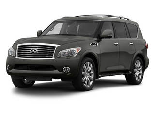 Platinum Graphite 2013 INFINITI QX56 Pictures QX56 Utility 4D 4WD photos front view