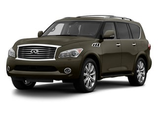 Smoky Quartz 2013 INFINITI QX56 Pictures QX56 Utility 4D 4WD photos front view