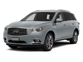 Glacial Silver 2013 INFINITI JX35 Pictures JX35 Utility 4D AWD photos front view