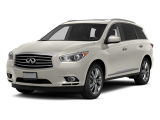 Moonlight White 2013 INFINITI JX35 Pictures JX35 Utility 4D AWD photos front view