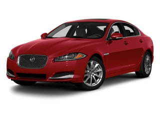 Carnelian Red Metallic 2013 Jaguar XF Pictures XF Sedan 4D Portfolio AWD V6 Supercharg photos front view