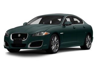 British Racing Green 2013 Jaguar XF Pictures XF Sedan 4D XFR Supercharged Speed photos front view