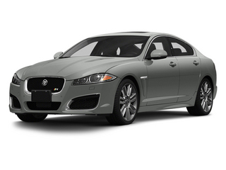 Rhodium Silver Metallic 2013 Jaguar XF Pictures XF Sedan 4D XFR Supercharged Speed photos front view
