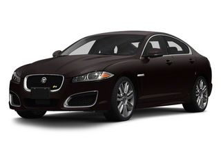 Ultimate Black Metallic 2013 Jaguar XF Pictures XF Sedan 4D XFR-S V8 Supercharged photos front view