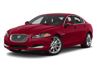 Carnelian Red Metallic 2013 Jaguar XF Pictures XF Sedan 4D V8 Supercharged photos front view