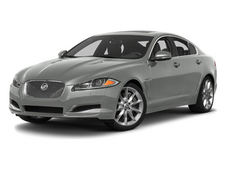 Rhodium Silver Metallic 2013 Jaguar XF Pictures XF Sedan 4D V8 Supercharged photos front view
