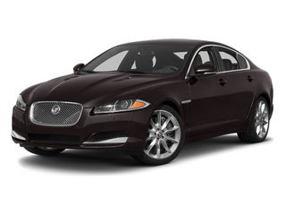 Ultimate Black Metallic 2013 Jaguar XF Pictures XF Sedan 4D V8 Supercharged photos front view