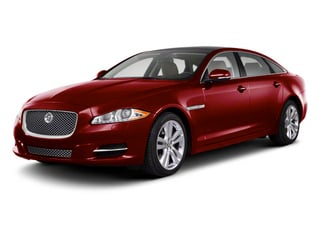 Carnelian Red 2013 Jaguar XJ Pictures XJ Sedan 4D AWD V6 photos front view