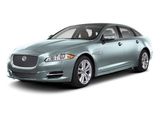 Crystal Blue 2013 Jaguar XJ Pictures XJ Sedan 4D AWD V6 photos front view