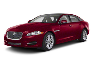 Italian Racing Red 2013 Jaguar XJ Pictures XJ Sedan 4D V6 photos front view