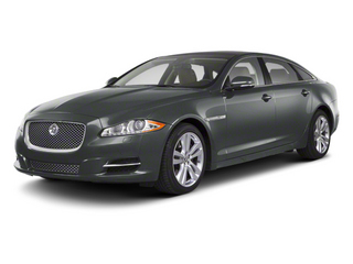 Lunar Grey 2013 Jaguar XJ Pictures XJ Sedan 4D AWD V6 photos front view