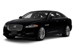 Ebony 2013 Jaguar XJ Pictures XJ Sedan 4D Speed V8 Supercharged photos front view