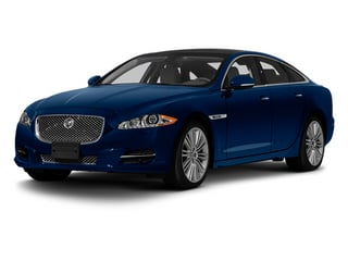 Indigo Blue 2013 Jaguar XJ Pictures XJ Sedan 4D Speed V8 Supercharged photos front view