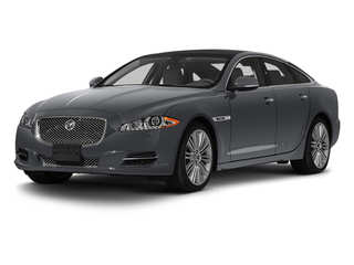Lunar Grey 2013 Jaguar XJ Pictures XJ Sedan 4D Supersport V8 photos front view