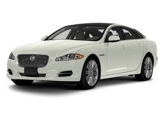 Polaris White 2013 Jaguar XJ Pictures XJ Sedan 4D Speed V8 Supercharged photos front view