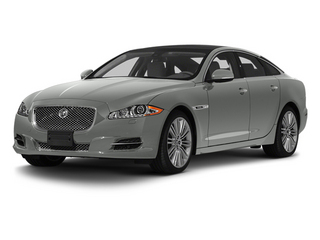 Rhodium Silver 2013 Jaguar XJ Pictures XJ Sedan 4D Speed V8 Supercharged photos front view