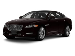 Ultimate Black 2013 Jaguar XJ Pictures XJ Sedan 4D Supersport V8 photos front view