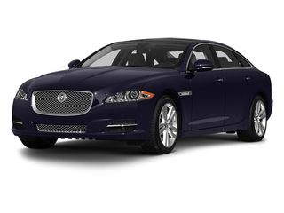 Black Amethyst 2013 Jaguar XJ Pictures XJ Sedan 4D L Ultimate V8 photos front view