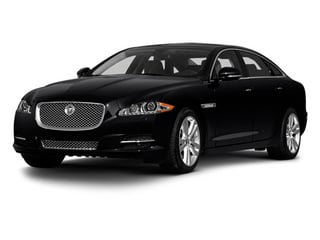 Ebony 2013 Jaguar XJ Pictures XJ Sedan 4D L Portfolio AWD V6 photos front view
