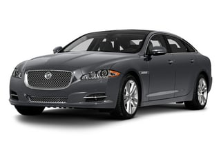 Lunar Grey 2013 Jaguar XJ Pictures XJ Sedan 4D L Portfolio AWD V6 photos front view