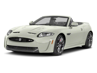 Polaris White 2013 Jaguar XK Pictures XK Convertible XKR-S Supercharged photos front view