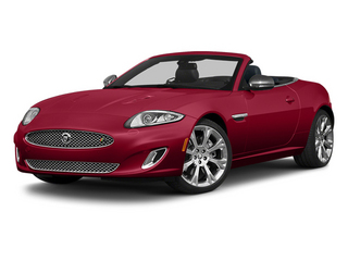 Carnelian Red Metallic 2013 Jaguar XK Pictures XK Convertible XKR Supercharged photos front view
