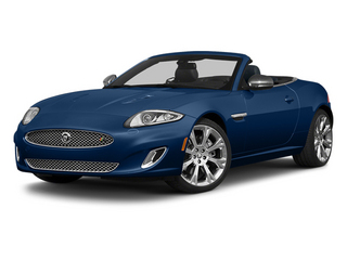 Indigo Blue Metallic 2013 Jaguar XK Pictures XK Convertible XKR Supercharged photos front view