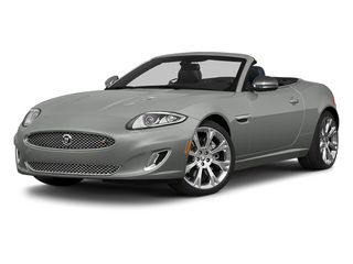 Rhodium Silver Metallic 2013 Jaguar XK Pictures XK Convertible XKR Supercharged photos front view