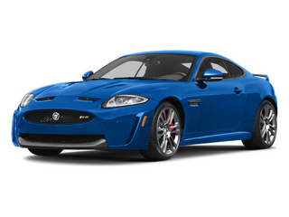 French Racing Blue 2013 Jaguar XK Pictures XK Coupe 2D XKR-S Supercharged photos front view