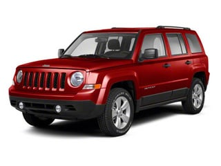 Deep Cherry Red Crystal Pearl 2013 Jeep Patriot Pictures Patriot Utility 4D Limited 2WD photos front view