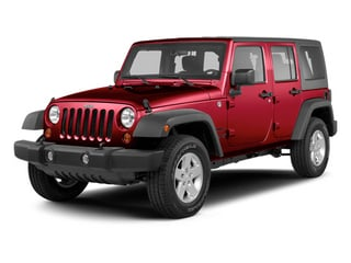 Deep Cherry Red Crystal Pearl 2013 Jeep Wrangler Unlimited Pictures Wrangler Unlimited Utility 4D Unlimited Sahara 4WD photos front view