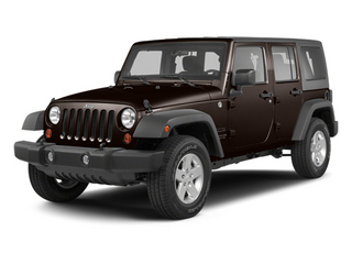 Rugged Brown Pearl 2013 Jeep Wrangler Unlimited Pictures Wrangler Unlimited Utility 4D Unlimited Sahara 4WD photos front view