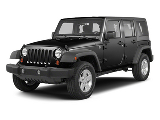Black 2013 Jeep Wrangler Unlimited Pictures Wrangler Unlimited Utility 4D Unlimited Sahara 4WD photos front view