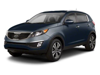 Twilight Blue 2013 Kia Sportage Pictures Sportage Utility 4D LX 2WD I4 photos front view
