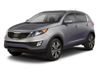 Mineral Silver 2013 Kia Sportage Pictures Sportage Utility 4D EX 2WD I4 photos front view