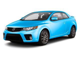 Abyss Blue Pearl Metallic 2013 Kia Forte Koup Pictures Forte Koup Coupe 2D SX I4 photos front view