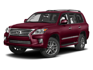 Noble Spinel Mica 2013 Lexus LX 570 Pictures LX 570 Utility 4D 4WD photos front view