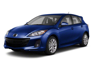 Indigo Lights Mica 2013 Mazda Mazda3 Pictures Mazda3 Wagon 5D s GT I4 photos front view