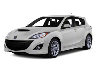 Crystal White Pearl Mica/Black 2013 Mazda Mazda3 Pictures Mazda3 Wagon 5D SPEED I4 photos front view